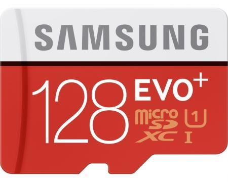 SAMSUNG EVO PLUS UHS-I MicroSDXC 128GB class 10 + Adapter MB-MC128DA