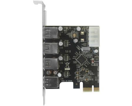 JAVTEC PCI Express kontroler 4xUSB 3.0