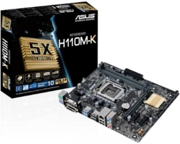 Asus Intel MB H110M-K 1151