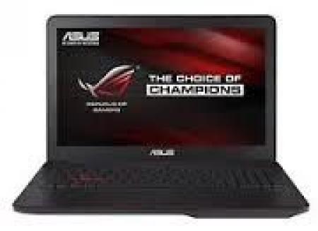 ASUS ROG GL552JX-AZTEC 15.6 FHD Intel Core i7-4720HQ 2.6GHz (3.6GHz) 8GB 1TB GeForce GTX 950M 2GB Windows 10 Home 64bit ODD crni