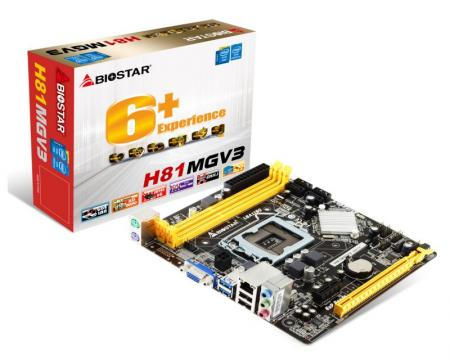 MBI Biostar H81MGV3, LGA1150