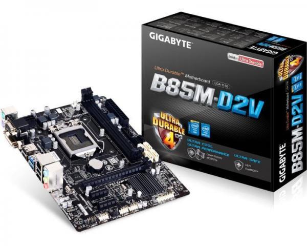 Gigabyte Intel MB GA-B85M-D2V 3.0 1150