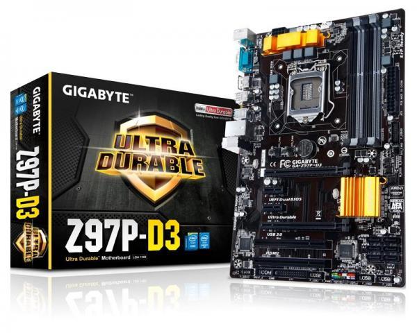 GIGABYTE GA-Z97P-D3 rev.1.1