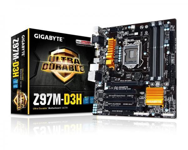 GIGABYTE GA-Z97M-D3H rev.1.1