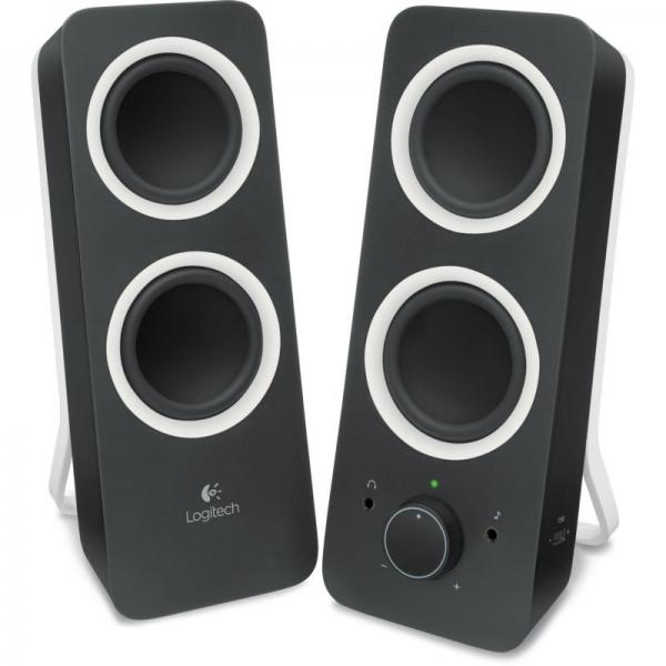 Z200 Multimedia Speakers Midnight Black