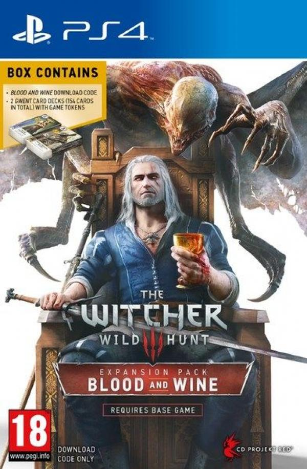 PS4 The Witcher 3 Wild Hunt Blood and Wine