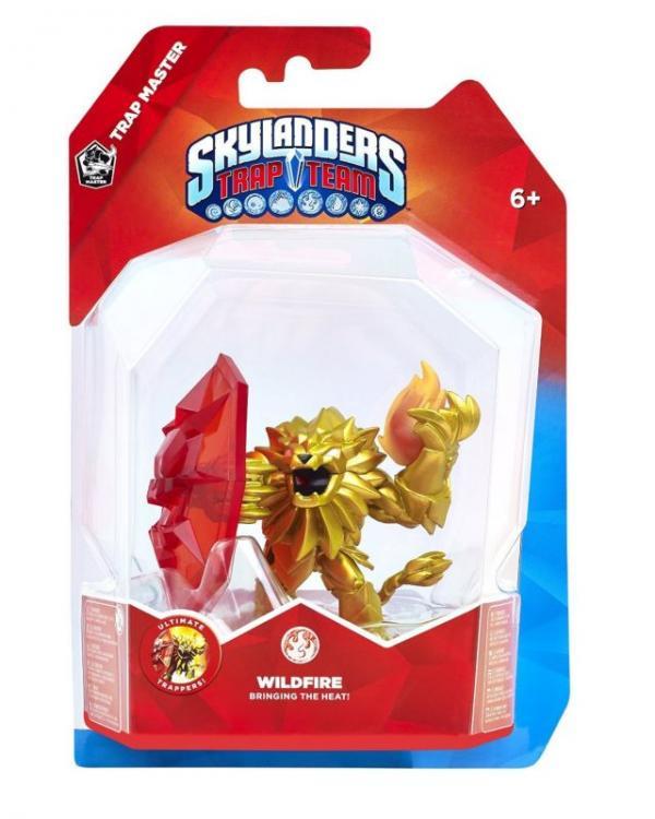 Skylanders Trap Team - Trap Master Wildfire