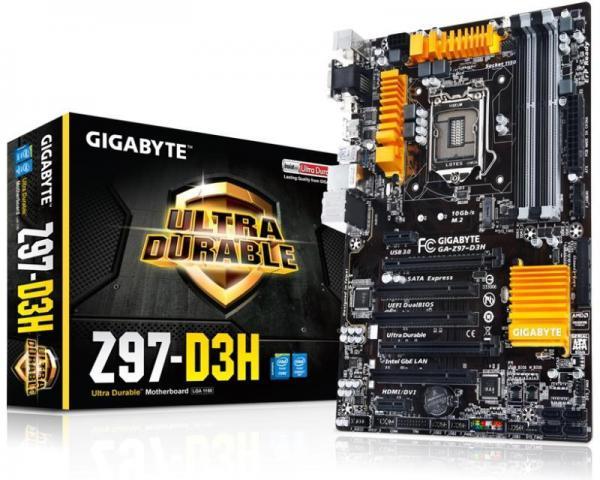 GIGABYTE GA-Z97-D3H rev.1.2