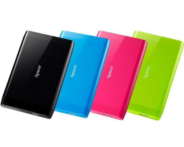 APACER AC235 500GB 2.5 zeleni eksterni hard disk