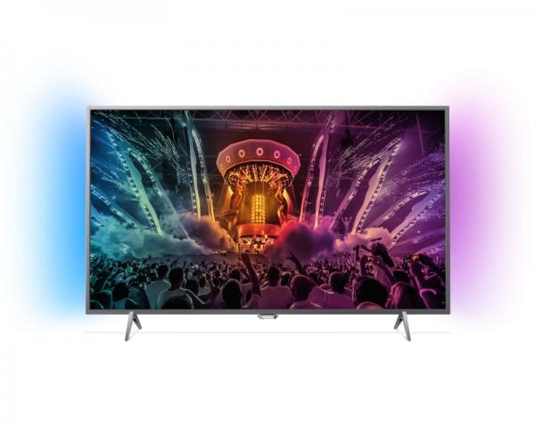 PHILIPS 43 43PUS6401/12 Smart LED 4K Ultra HD Android Ambilight digital LCD TV $