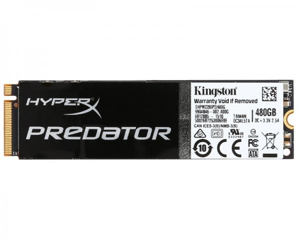 KINGSTON 480GB M.2 PCIe SHPM2280P2/480G SSD HyperX Predator