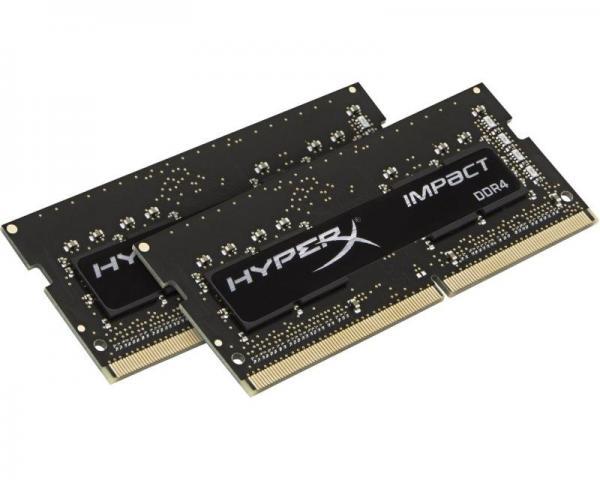 KINGSTON SODIMM DDR4 32GB (2x16GB kit) 2400MHz HX424S14IBK2/32 HyperX Impact