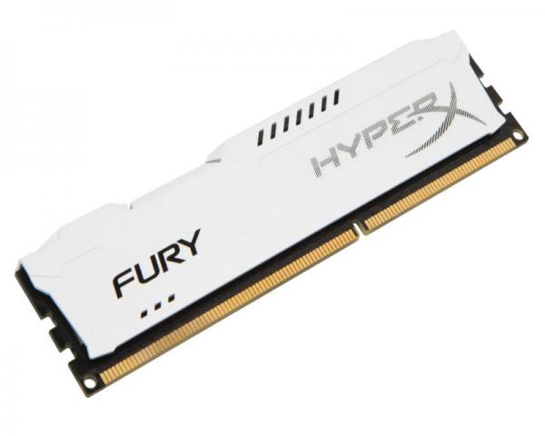 KINGSTON DIMM DDR3 4GB 1866MHz HX318C10FW/4 HyperX Fury White
