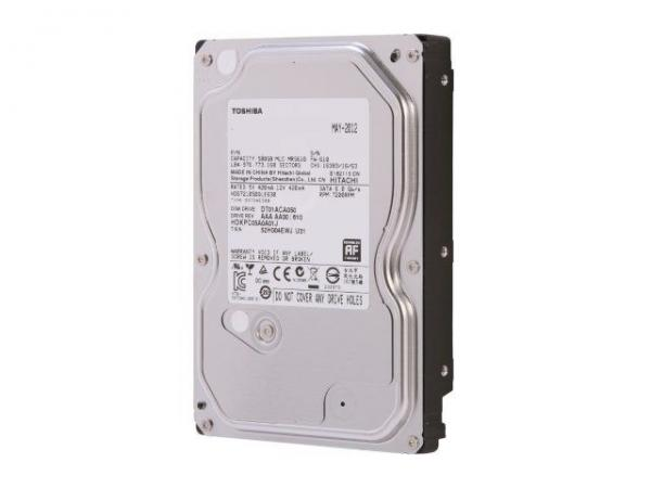 Toshiba HDD 500GB 3.5 7200 SATA 3.0 32MB interni hard disk