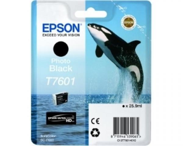 EPSON T7601 photo black ketridž