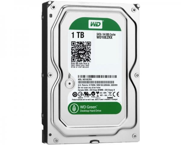 WD 1TB 3.5 SATA III 64MB IntelliPower WD10EZRX +