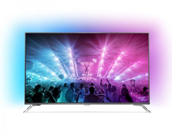 PHILIPS 49 49PUS7101/12 Smart LED 4K Ultra HD Android Ambilight digital LCD TV $