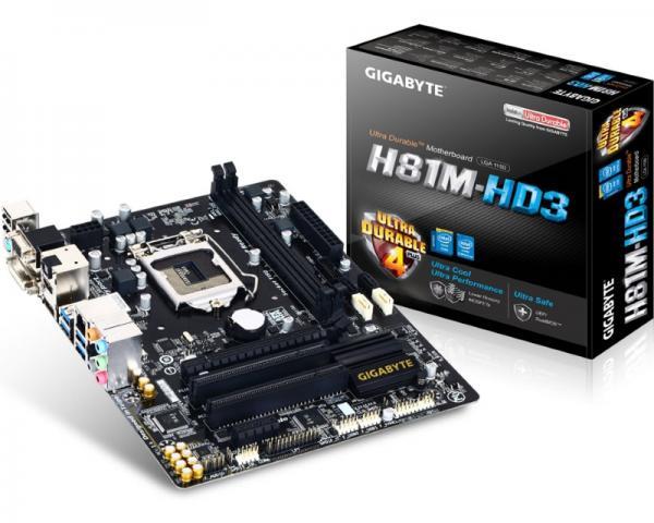 GIGABYTE GA-H81M-HD3 rev.2.0