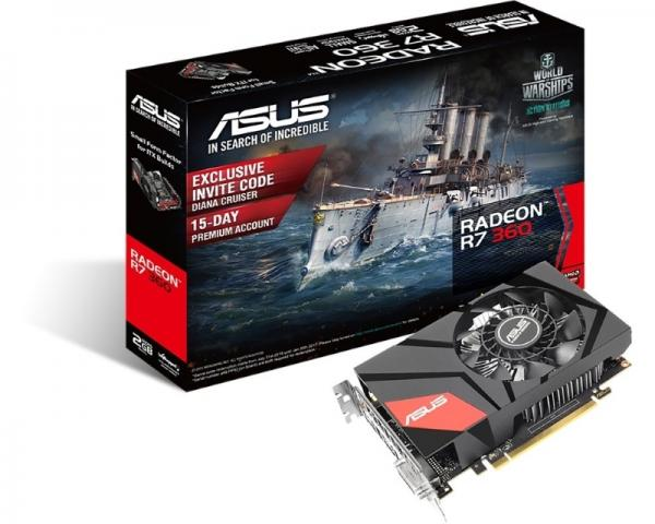 ASUS AMD Radeon R7 360 2GB 128bit MINI-R7360-2G