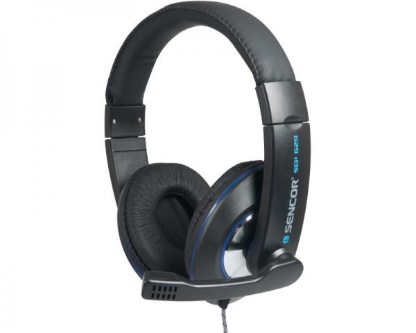 SENCOR SEP 629 slušalice sa mikrofonom