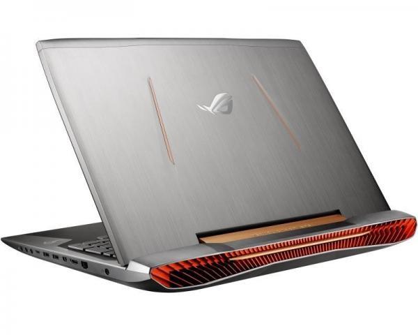 ASUS ROG G752VS-GC118T 17.3 Full HD Intel Core i7-6700HQ 2.6 GHz (3.5 GHz) 16GB 1TB 256GB SSD GeForce GTX 1070 8GB Windows 10 Home 64bit ODD srebrno-crni