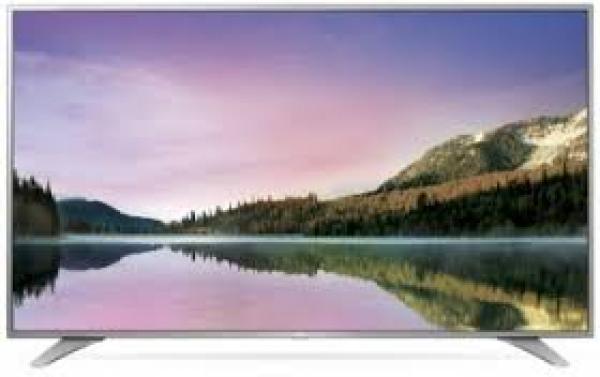 LG 43UH6507 LED TV 43 Ultra HD, WebOS 3.0 SMART, T2, Metal/Silver, Eiffel stand