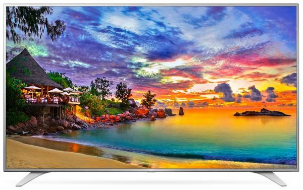 LG 49UH6507 LED TV 49 Ultra HD, WebOS 3.0 SMART, T2, Metal/Silver, Eiffel stand