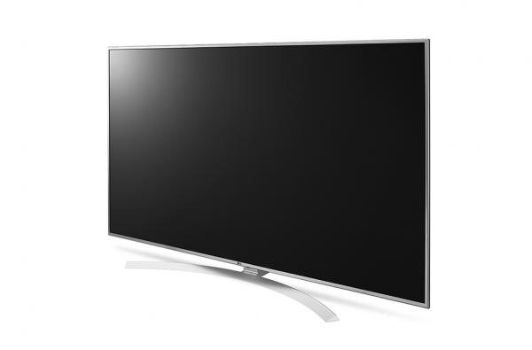 LG 60UH7707 LED TV 60 Super Ultra HD, WebOS 3.0 SMART, T2,Bright metal/Silver, Crescent stand