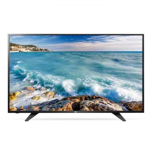 LG 43LH500T LED TV 43 Full HD,T2,  Metal/Black, Two pole stand