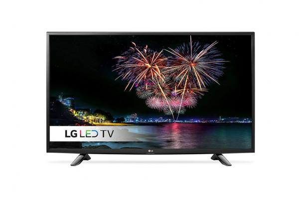 LG 43LH510V LED TV 43 Full HD, DVB-T2,  Metal/Black, Two pole stand