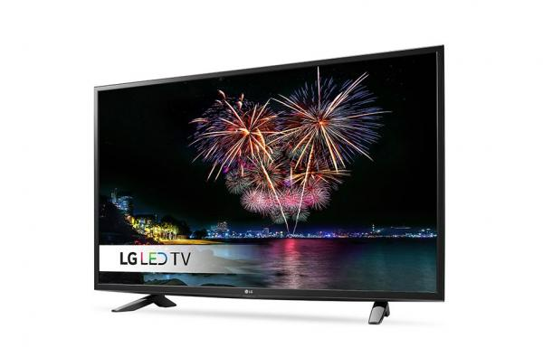 LG 49LH5100 LED TV 49 Full HD, DVB-T,  Metal/Black, Two pole stand