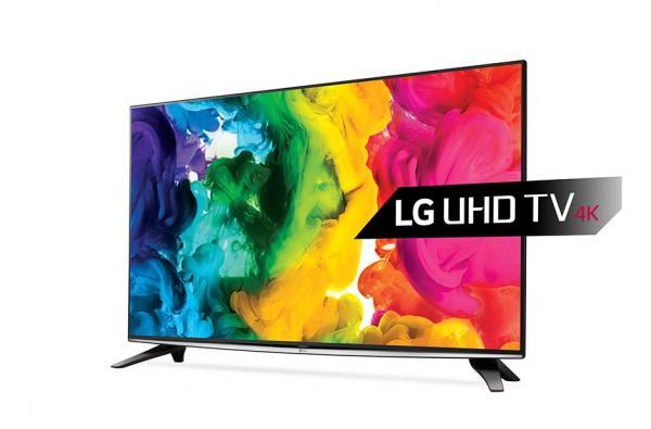 LG 50UH635V LED TV 50 Ultra HD, WebOS 3.0 SMART, T2, Metal/Titan, Eiffel stand