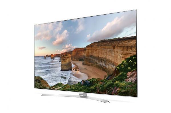 LG 65UH8507 3D LED TV 65 Super Ultra HD, WebOS 3.0 SMART, T2, UniScreen, Crescent stand