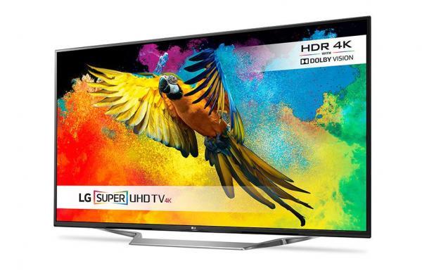 LG 70UH700V LED TV 70 Ultra HD, WebOS 3.0 SMART, T2, Metal/Black, Plate ribbon stand