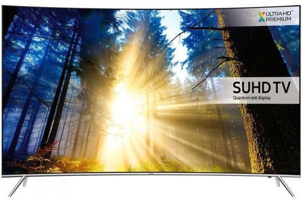 Samsung 55KS7502 Curved/UltraHD/Smart/WiFi/QuadCore/PQI 2200/DVB-T2CS2/HDMI x 4/USB x 3/Silver