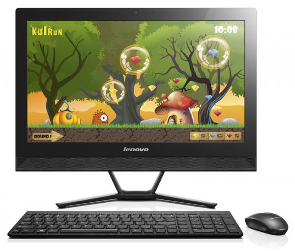 Lenovo IdeaCentre AIO C40-30 Intel 3825U/21.5 Touch/4GB/500GB/IntelHD/DVD-RW/KB&Mis/Win 10/Black