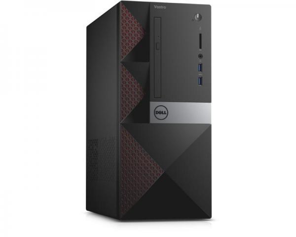 DELL Vostro 3650 MT Intel Core i3-6100 2-Core 3.7GHz 4GB 500GB ODD Ubuntu + tastatura + miš 3yr NBD