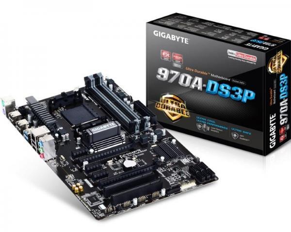 Gigabyte AMD MB GA-970A-DS3P 2.1 AM3+