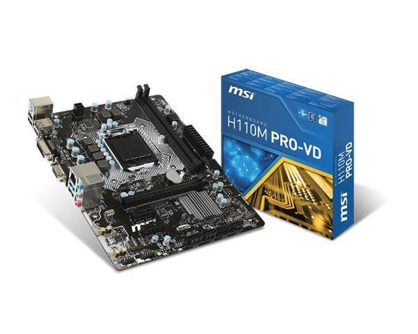MBO MSI 1151 H110M PRO-VD