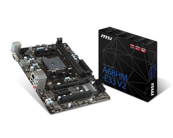 MSI FM2+ A68HM-E33 V2