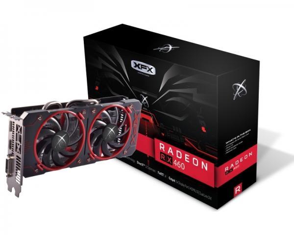 XFX AMD Radeon RX 460 4GB 128bit RX-460P4DFG5