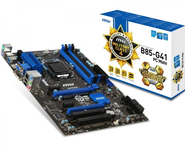 MSI B85-G41 PC Mate