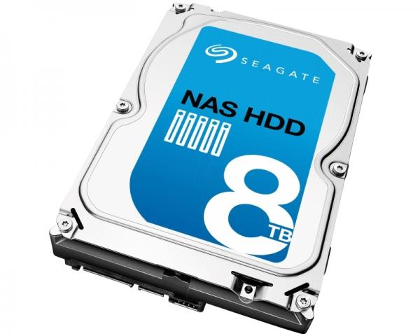 SEAGATE 8TB 3.5 SATA III 256MB ST8000VN0002 NAS HDD