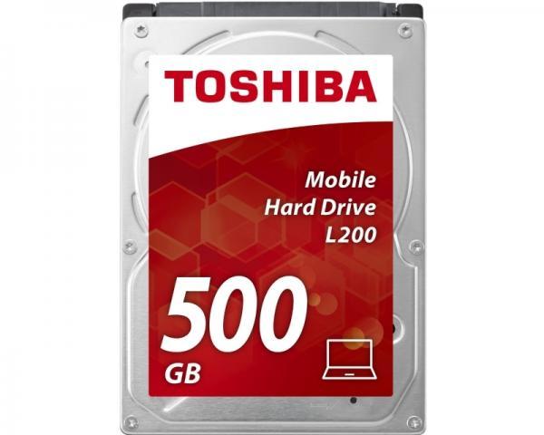 TOSHIBA 500GB 2.5 SATA III 8MB 5.400rpm HDWK105UZSVA L200 series
