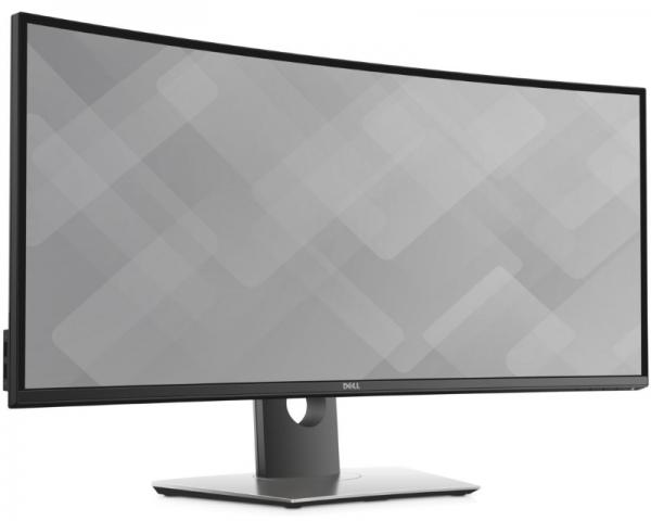 DELL 34 U3417W UltraSharp zakrivljeni 4K Ultra HD IPS LED monitor