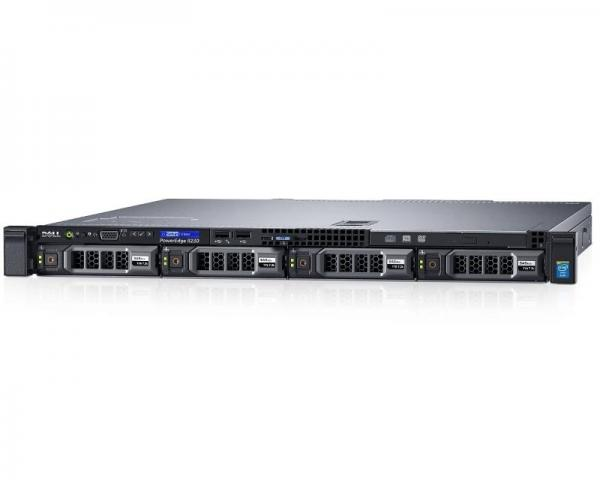 DELL PowerEdge R230 Xeon E3-1220 v5 4-Core 3.0GHz (3.5GHz) 8GB 1TB SAS 3yr NBD