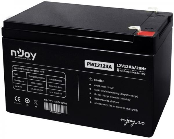 NJOY PW12123 baterija za UPS 12V 12Ah (ACPW-12123PW-BZ01B)