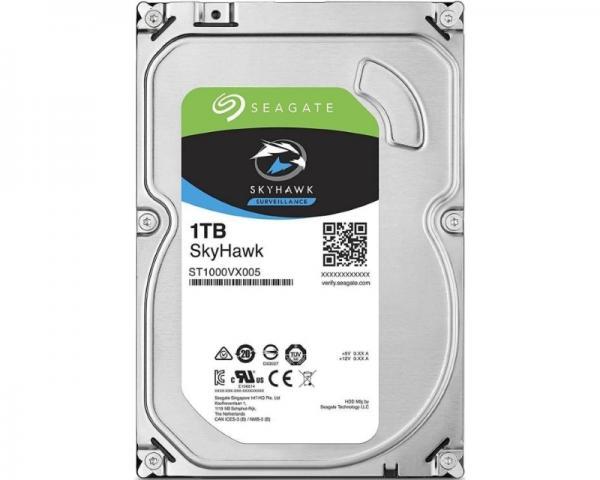 SEAGATE 1TB 3.5 SATA III 64MB ST1000VX005 SkyHawk Surveillance HDD