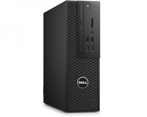 DELL Precision T3420 SF Xeon E3-1240 v5 4-Core 3.5GHz (3.9GHz) 8GB 1TB nVidia Quadro K1200 4GB Windows 10 Professional 64bit + tastatura + miš 3yr NBD
