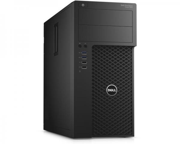 DELL Precision T3620 MT Xeon E3-1220 v5 4-Core 3GHz (3.5GHz) 8GB 1TB nVidia Quadro M2000 4GB Windows 10 Professional 64bit + tastatura + miš 3yr NBD
